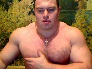 MuscularGuy's Webcam Show Feb 12